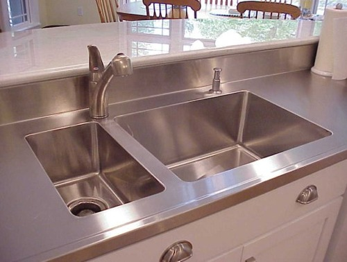 Custom Stainless Steel Countertops