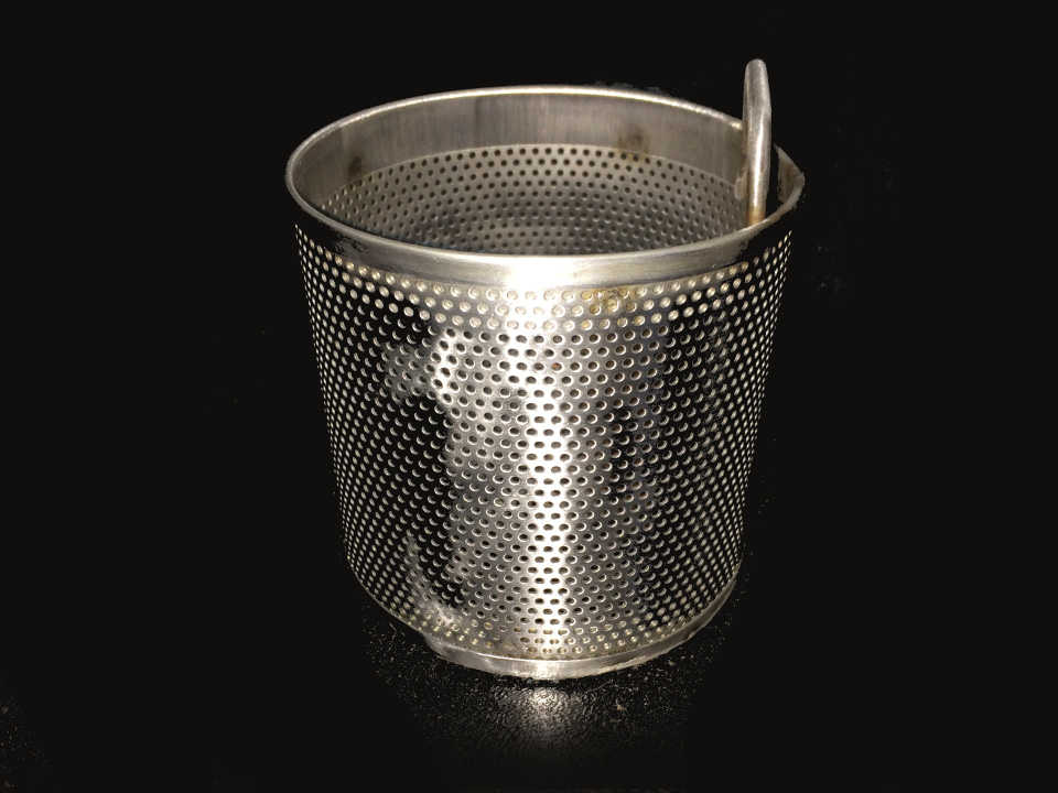 Filter Strainer Basket in Stainless Steel