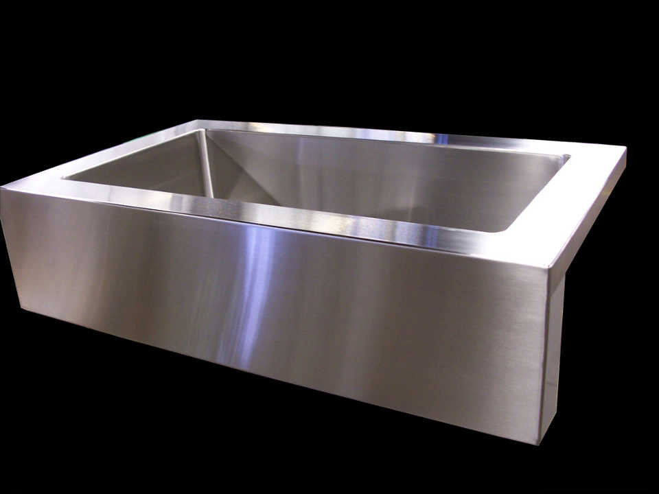 Stainless Steel farmer sink with apron